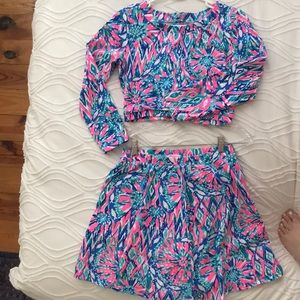 Lilly Pulitzer knit set